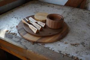 アウトドア用品木製カトラリー